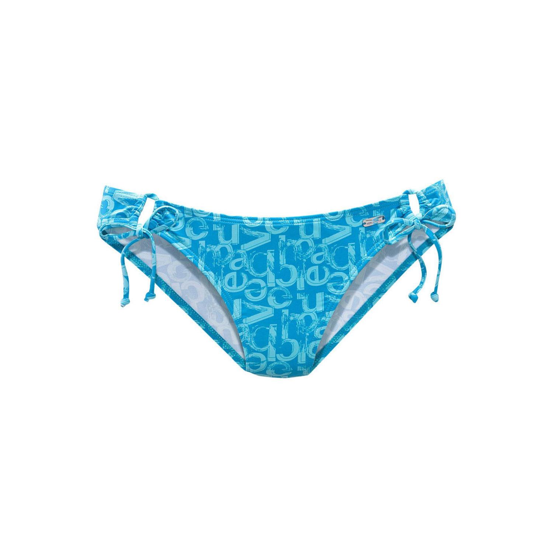 bikini hose blau bedruckt von venice beach lascana. Black Bedroom Furniture Sets. Home Design Ideas