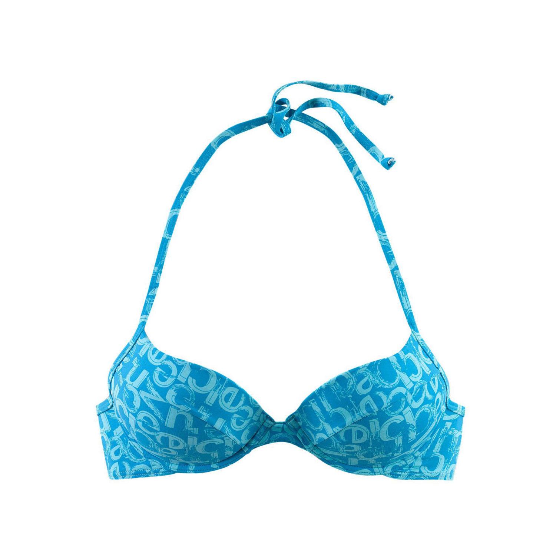 push up top blau bedruckt von venice beach lascana. Black Bedroom Furniture Sets. Home Design Ideas