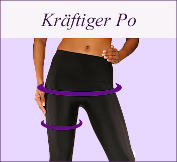 Body-Shaping: Taille und Po formen