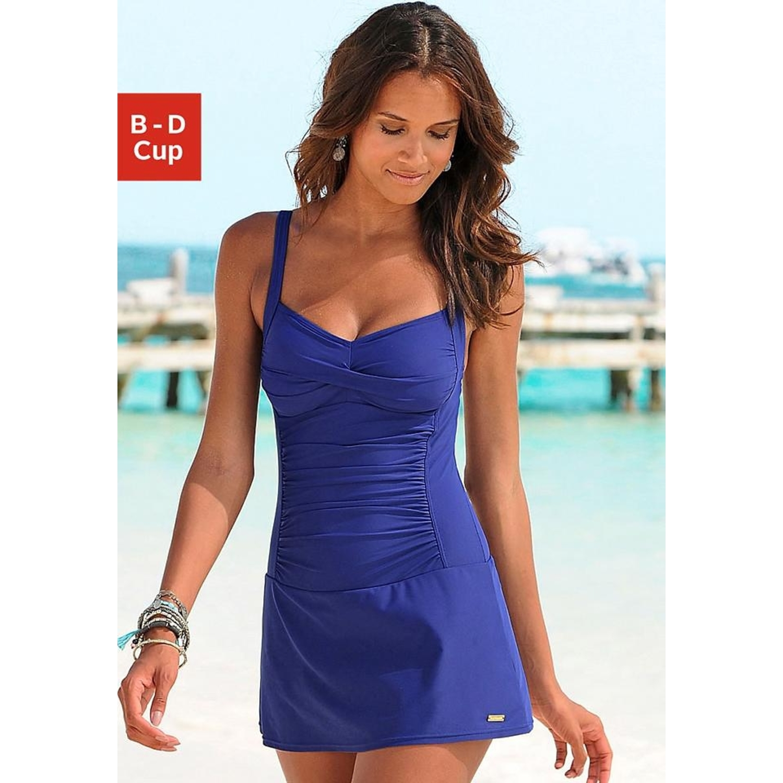 Badeanzug-Kleid - blau von LASCANA - LASCANA