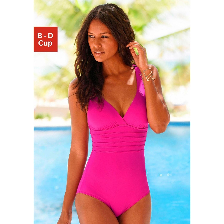 c061f8011568 Badeanzug - pink von LASCANA - LASCANA