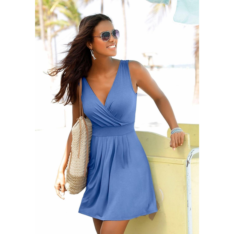15cc449dee43bd Beachtime Strandkleid - blau von BEACHTIME - LASCANA