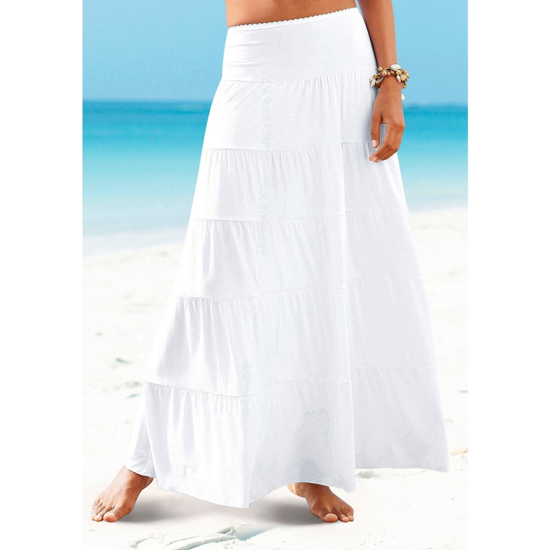 92a0f46a2246 Strandrock - weiß von BEACHTIME - LASCANA