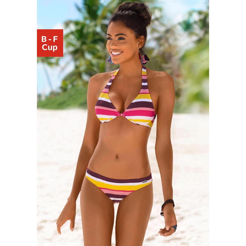 official on wholesale great deals 2017 Bügel-Bikini - pink-gestreift von BUFFALO - LASCANA