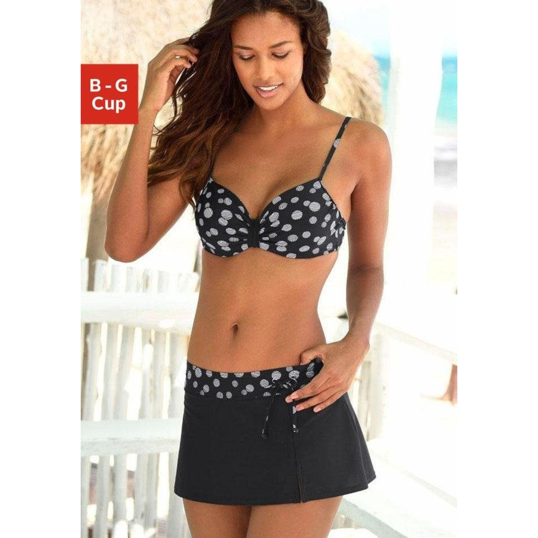 b5ea0afac6a428 Bügel-Bikini - schwarz-weiß von LASCANA - LASCANA