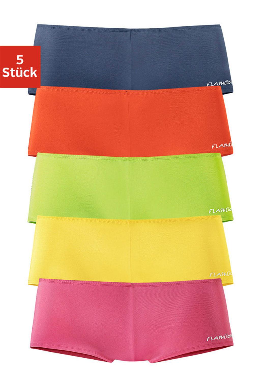 panty gelb rot blau gr n pink von flashlights lascana. Black Bedroom Furniture Sets. Home Design Ideas