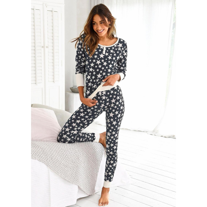 more photos 0b907 d388e Pyjama - schwarz mit Sternen von Bench. - LASCANA