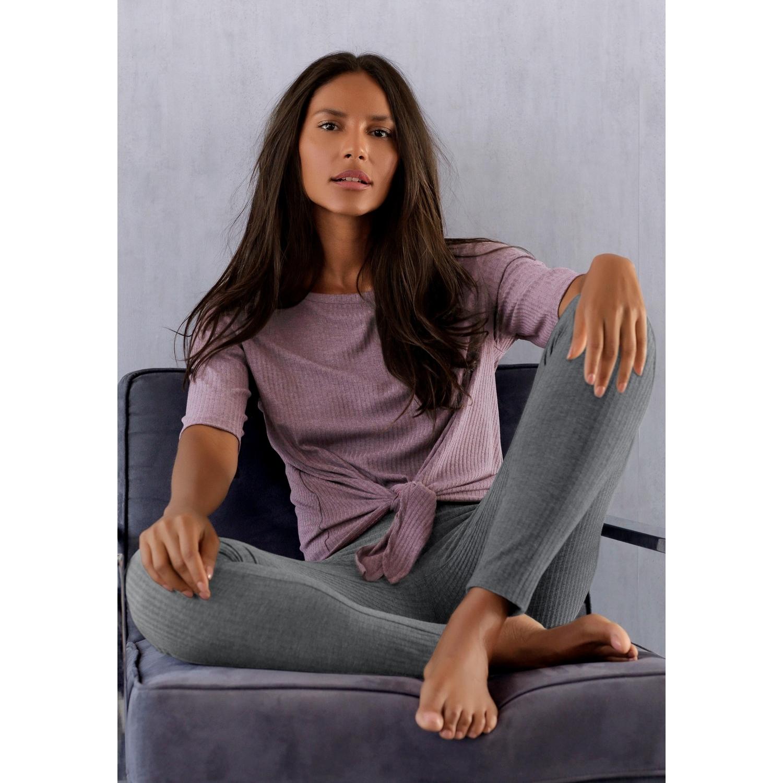 shirt mauve von lascana lascana. Black Bedroom Furniture Sets. Home Design Ideas