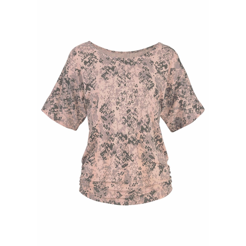 Shirt beige / grün Lascana Billig Bester Laden Zu Bekommen Günstige Top-Qualität  Um Online Bester Ort Komfortable Online-Verkauf LyM1hj