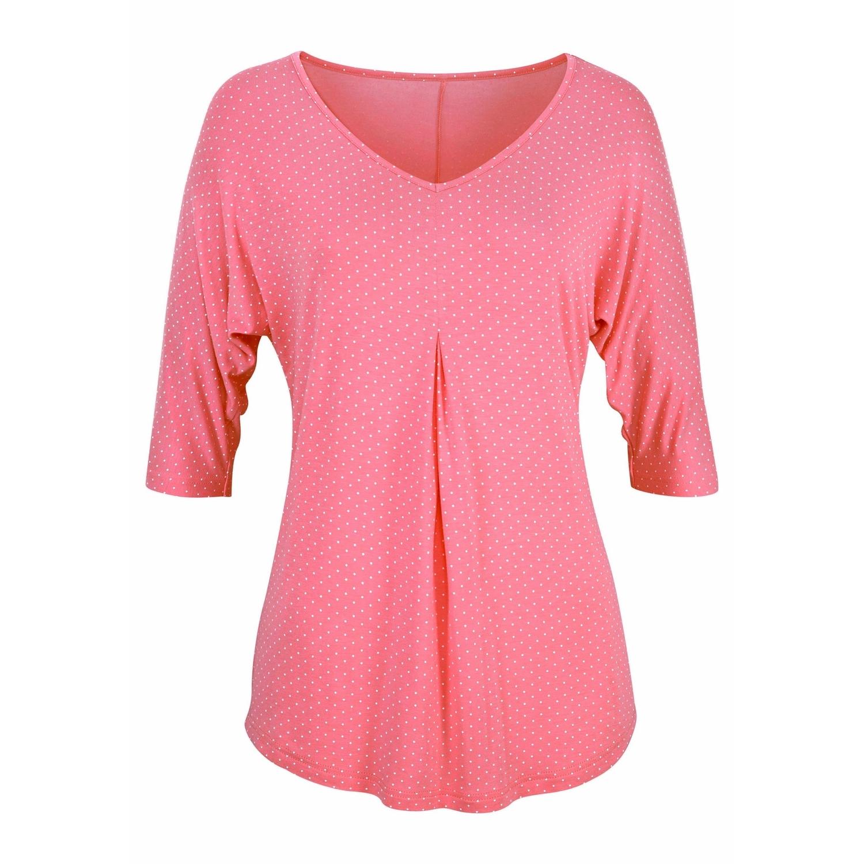 Shirts pink / schwarz Lascana 2SUYjY7Pzd