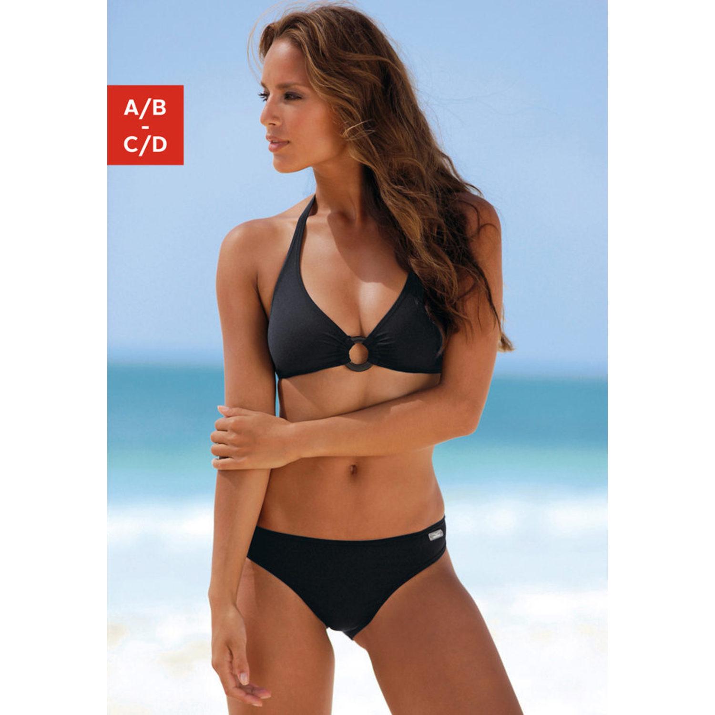 triangel bikini schwarz triangel bikini schwarz von venice beach lascana triangel bikini. Black Bedroom Furniture Sets. Home Design Ideas