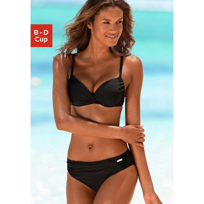 lascana bikini schwarz lascana women bikinis bikini bottoms schwarz lascana b gel bikini. Black Bedroom Furniture Sets. Home Design Ideas