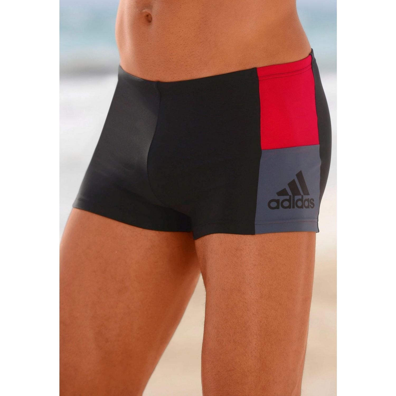 4eb0bec3a0911d adidas Performance Boxer-Badehose - schwarz-rot von adidas - LASCANA
