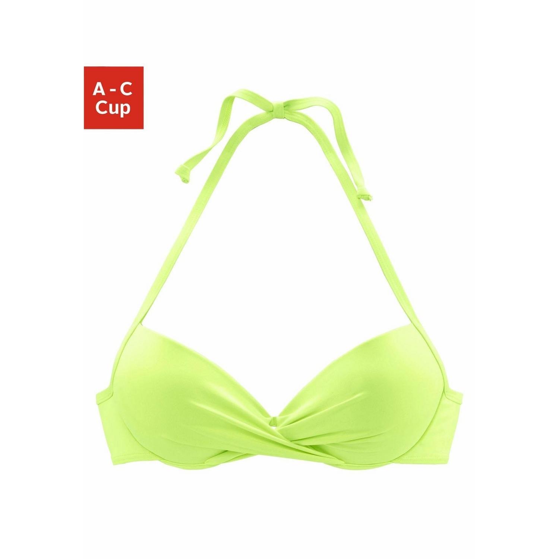 8798a647a0 s.Oliver RED LABEL Beachwear Push-Up-Bikini-Top »Spain« - LASCANA