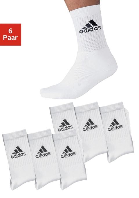 adidas Sportsocken weiß 39