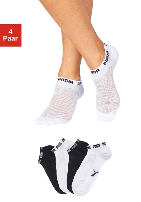 Puma Packung: Sneakersocken weiß, schwarz 39