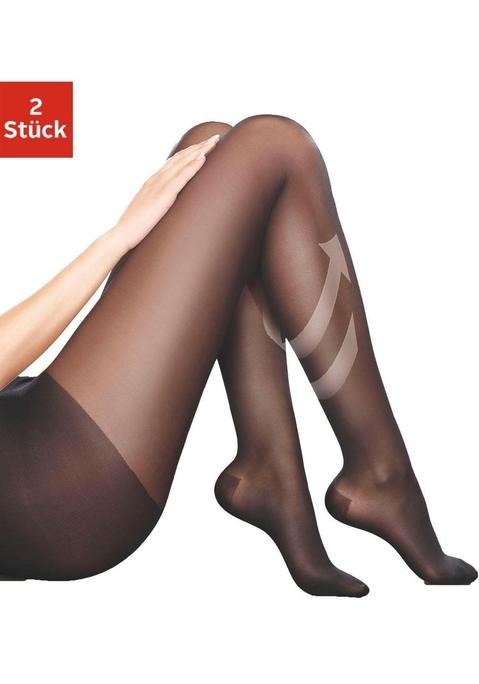 Disée Stützstrumpfhose schwarz XL bei Lascana - Dessous & Wäsche