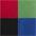 schwarz+grün+blau+rot