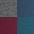 blau+anthrazit-meliert+bordeaux+petrol