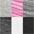 pink-meliert+grau-meliert+weiß+schwarz
