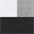 weiß+schwarz+grau-meliert