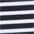 schwarz-weiß-gestreift