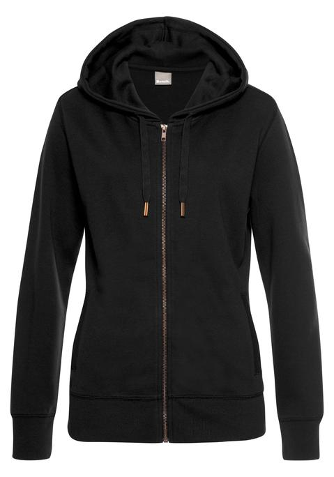 bench. -  Sweatjacke Damen schwarz Gr.40/42