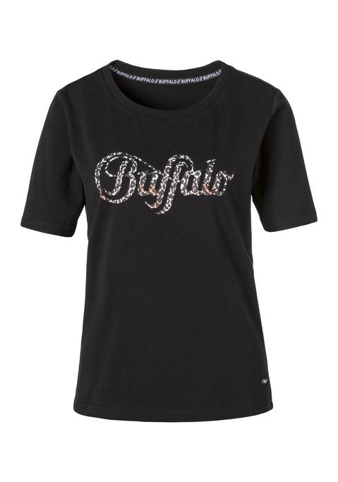 buffalo -  Damen T-Shirt schwarz Gr.44/46