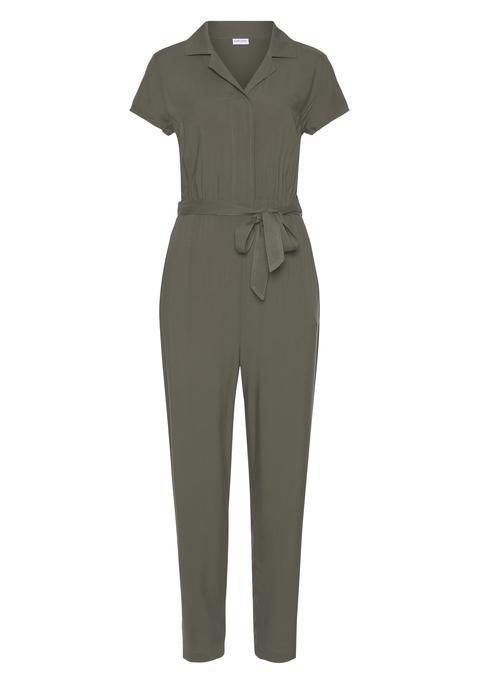lascana -  Overall Damen khaki Gr.46