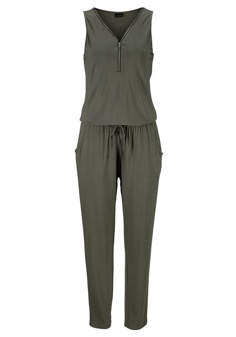 lascana -  Overall Damen olivgrün Gr.42