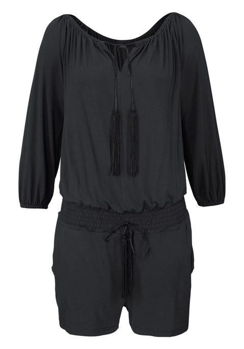 lascana -  Overall Damen schwarz Gr.46