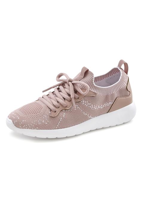lascana -  Sneaker Damen rosé Gr.43