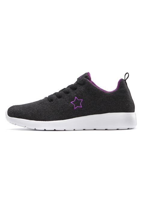 lascana -  Sneaker Damen schwarz Gr.42