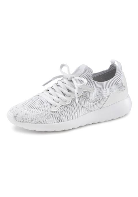 lascana -  Sneaker Damen weiß Gr.43