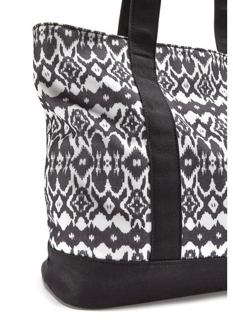 lascana -  Strandtasche Damen schwarz-weiß Gr.