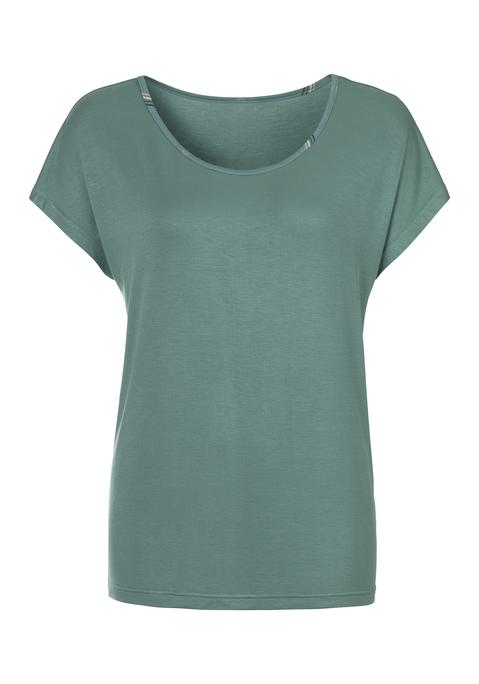 lascana -  Damen T-Shirt khaki Gr.44/46