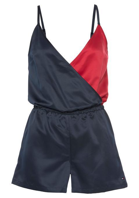 tommy hilfiger -  Jumpsuit Damen marine-rot Gr.XS