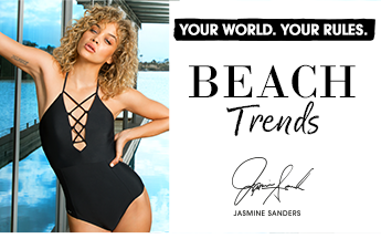 Zu den Beach-Trends by Jasmine Sanders